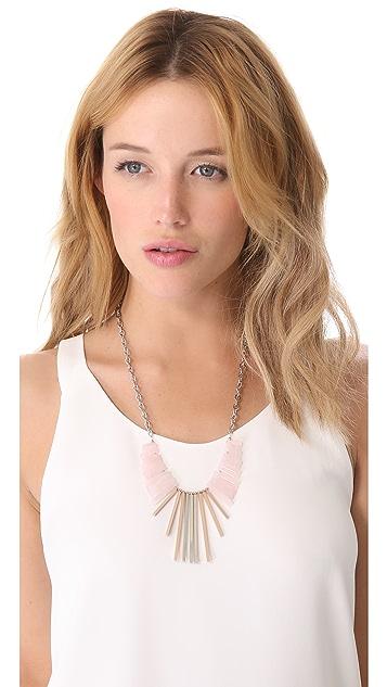 Gemma Redux Long Bib Necklace
