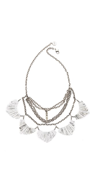 Gemma Redux Layered Bib Necklace