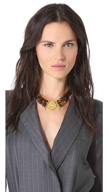 Gemma Redux Tortoiseshell Necklace