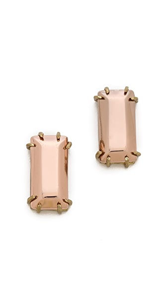 Gemma Redux Rectangle Stud Earrings