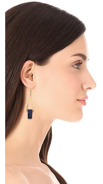 Gemma Redux Triangle Drop Earrings