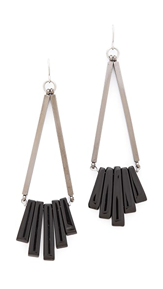 Gemma Redux Traingle Drop Earrings