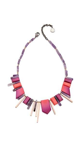 Gemma Redux Flora Mixed Stone Necklace