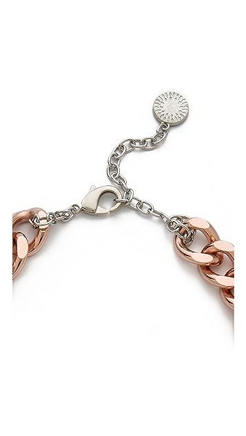 Gemma Redux Offset Howlite Stone Necklace