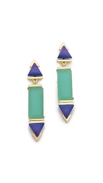 Gemma Redux Long Flora Drop Earrings