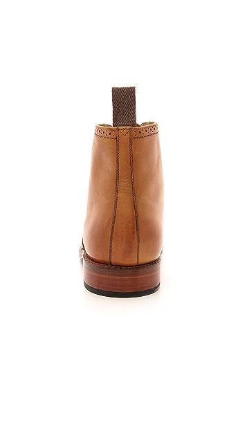Grenson Sharp Cap Brogue Boots