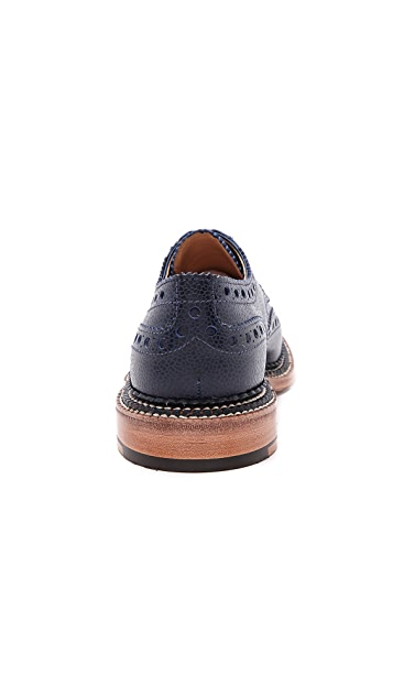 Grenson Archie Triple Welt Wingtip Oxford Shoes