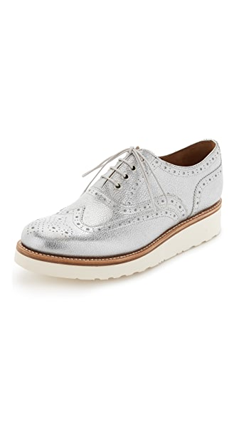 Grenson Emily Platform Oxfords