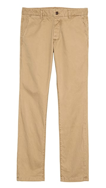Grown & Sewn Slim Fit 3-Ply Chinos
