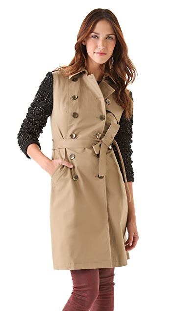 Gryphon Candy Dots Trench Coat