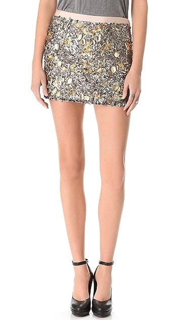 Gryphon Confetti Miniskirt
