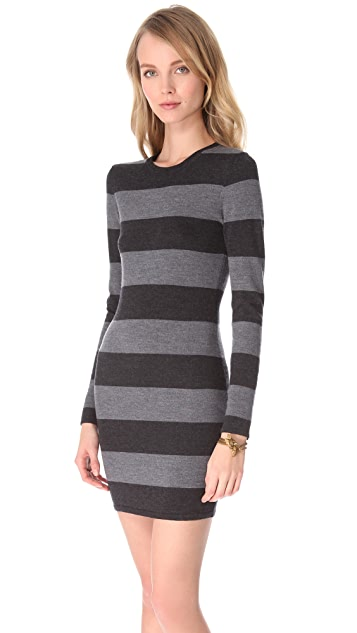 Gryphon Rugby Stripe Dress with Studs