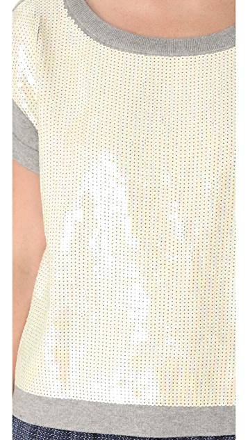 Gryphon Sequin Knit Tee
