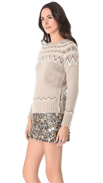 Gryphon Fair Isle Crew Neck Sweater