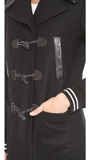 Gryphon Varsity Pea Coat