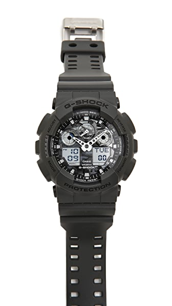 G-Shock GA-100 Camouflage Dial Watch