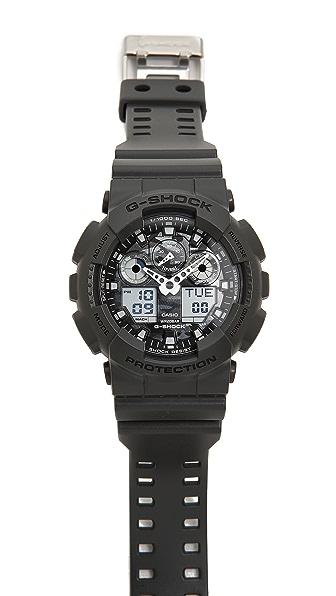 G-Shock GA-100 Camouflage Dial Watch