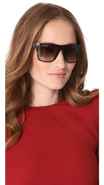 Gucci Oversized Squared Sunglasses