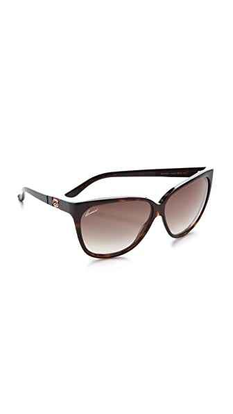 Gucci Youngster Oversized Cat Eye Sunglasses