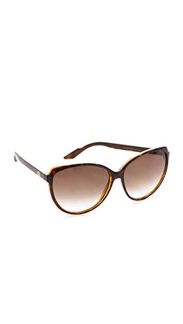 Gucci Youngster Cat Eye Sunglasses