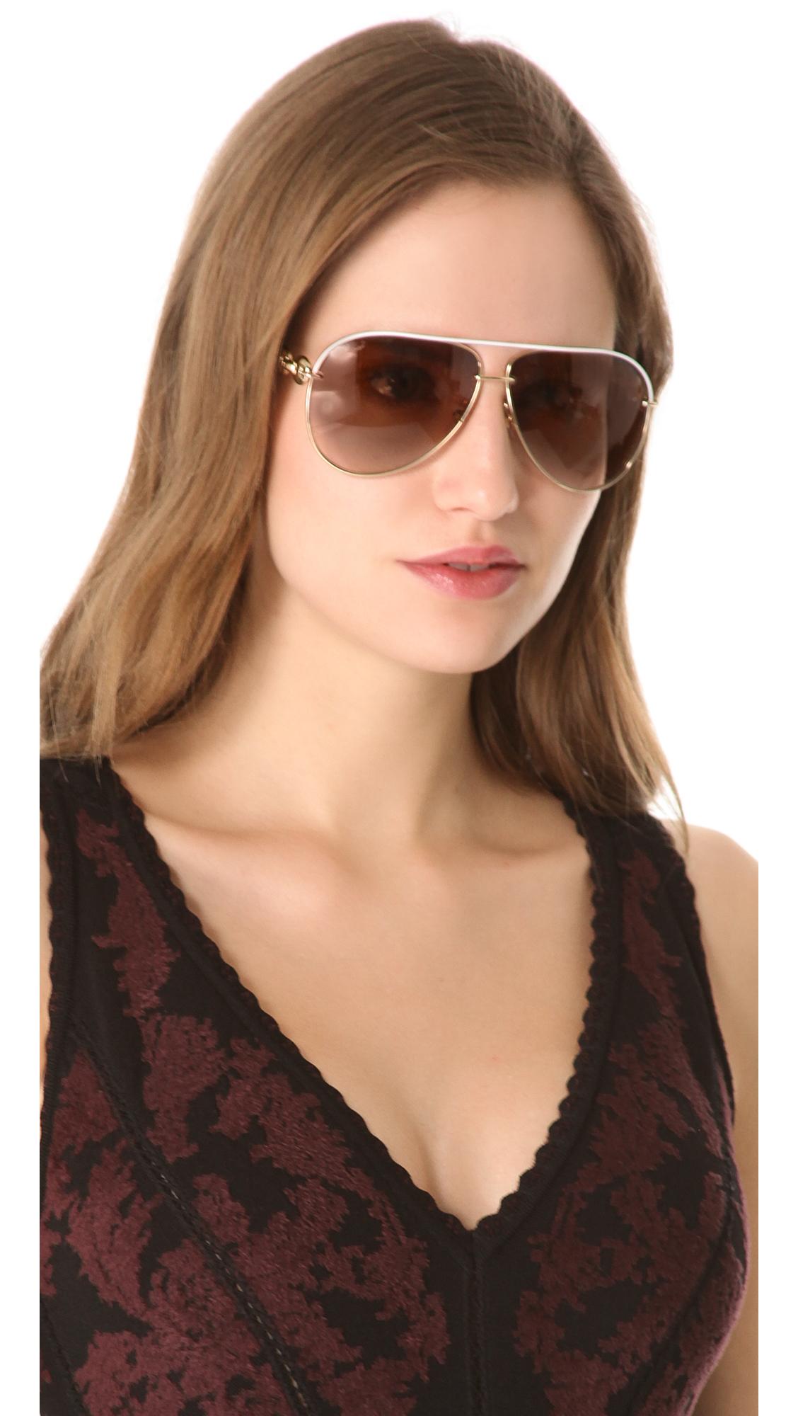 6b06c8ee88a Gucci Metal Aviator Sunglasses