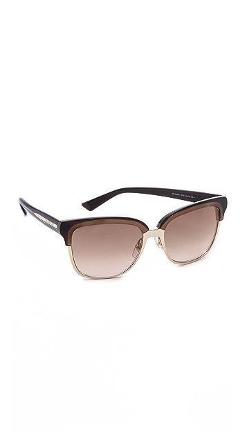 Gucci Square Sunglasses