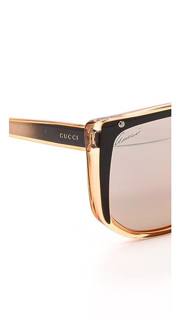 Gucci Flat Top Sunglasses