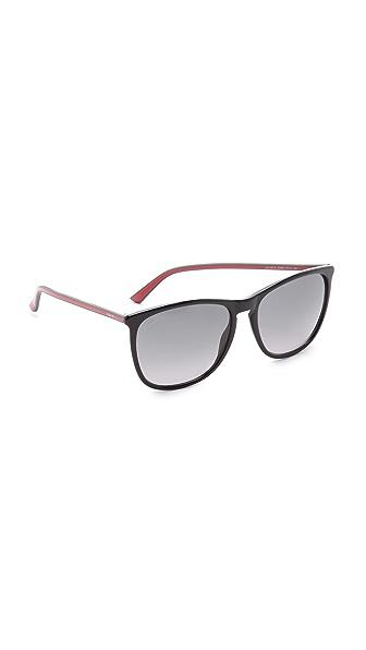 Gucci Thin Frame Sunglasses