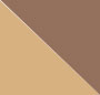 Beige Horn/Brown Gradient