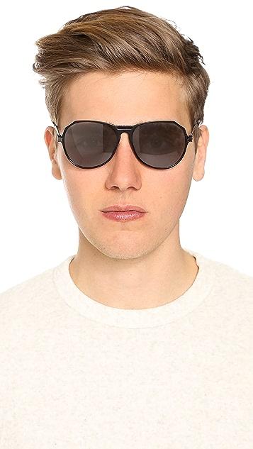 Givenchy SGVA11 Aviator Sunglasses