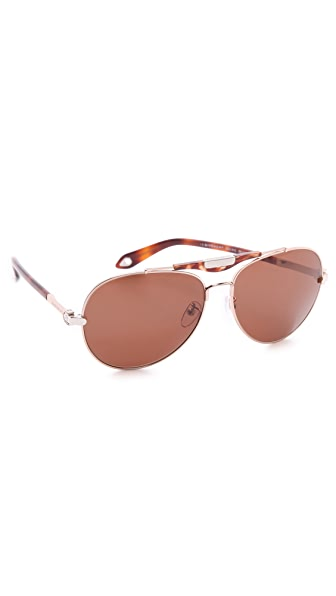 Givenchy SGVA13 Aviator Sunglasses