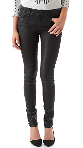 Habitual Eve High Rise Coated Skinny Jeans