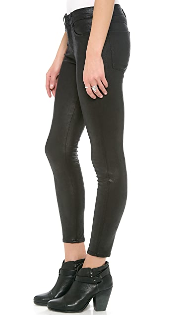Habitual Grace Coated Skinny Pants