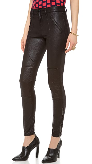 Habitual Elle High Rise Moto Pants