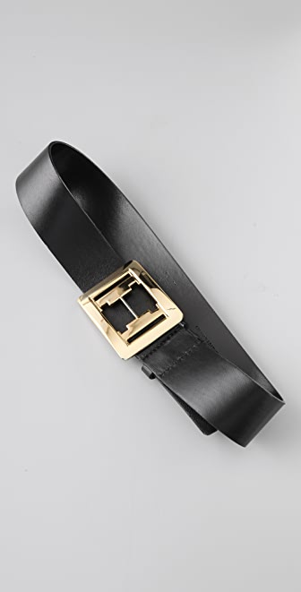 Halston Heritage Straight Belt