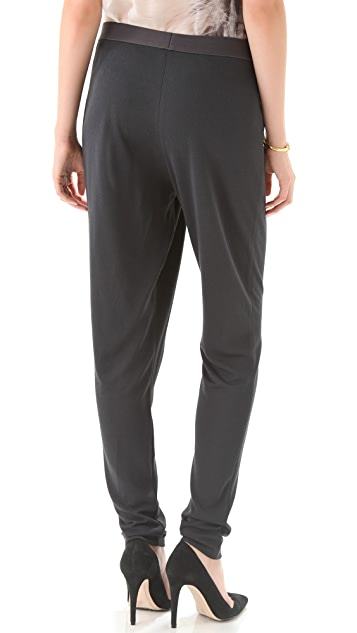 Halston Heritage Draped Front Pants