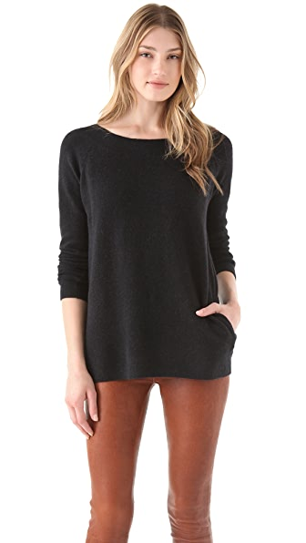 Halston Heritage V Back Sweater