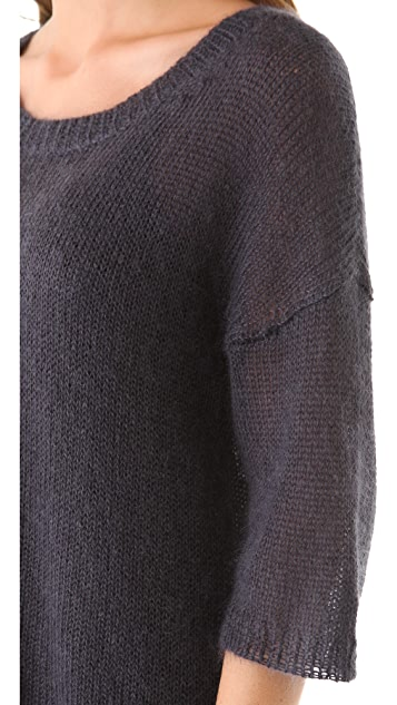 Halston Heritage Oversized Mohair Sweater