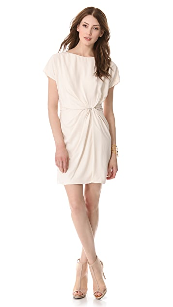 Halston Heritage Twist Front Dress
