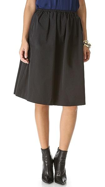 Halston Heritage Full Aline Skirt