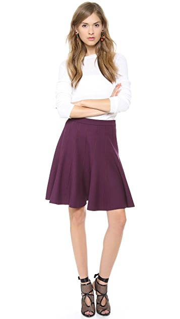 Halston Heritage Circle Skirt