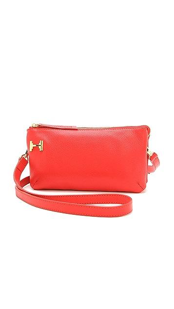 Halston Heritage Double Gusset Mini Bag