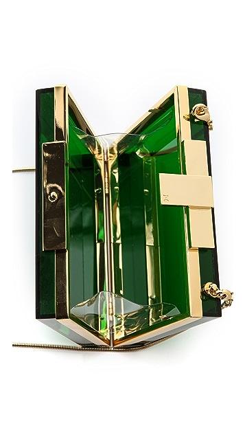 Halston Heritage Square Box Minaudiere