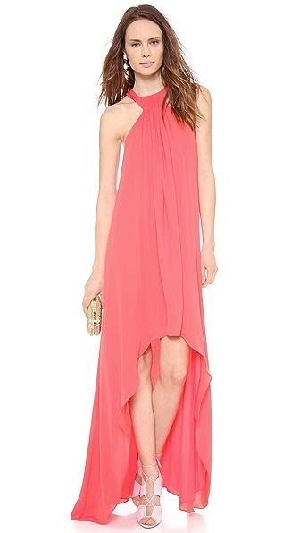 Halston Heritage Asymmetrical Gown