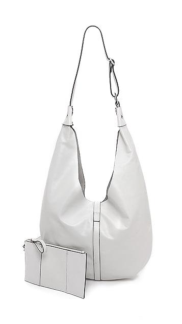 Halston Heritage Hobo Bag with Pouchette