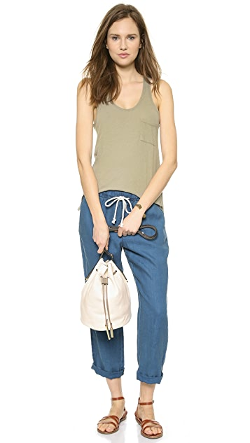 Halston Heritage City Casual Bucket