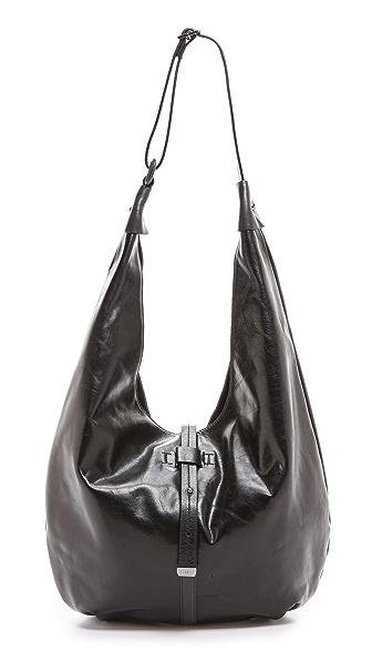 Halston Heritage Glazed Vintage Hobo Bag