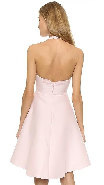 Halston Heritage Structured Halter Dress