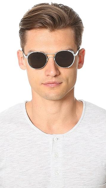 Han Kjobenhavn Green Outdoor Caged Sunglasses