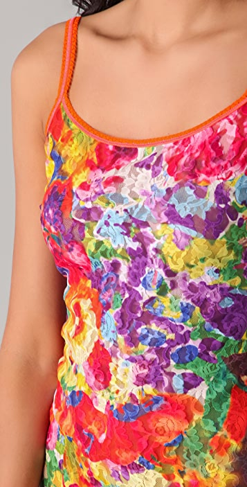 Hanky Panky Impressionist Print Basic Camisole